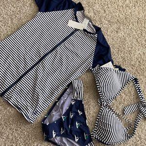 Tommy Bahama bathing suit & cover up set